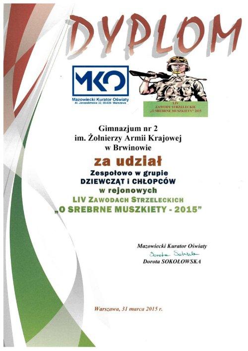 DyplomSrebrneMuszkiety